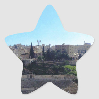 Amman Roman Theater Star Sticker
