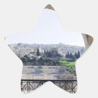 Amman Theater View Star Sticker