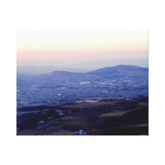 Amman Valley Canvas Print