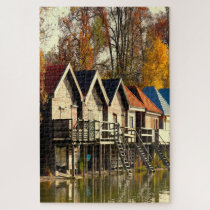 Ammersee Bavaria Germany. Jigsaw Puzzle