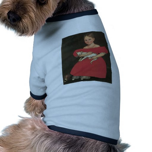 Ammi Phillips Girl in Red with her cat and dog Pet Tee