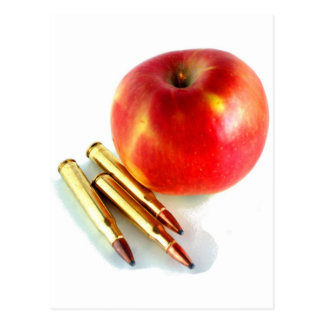 Ammo and Apple Trees Bullets Personal Preparedness Postcards