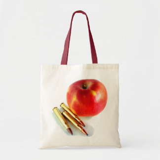Ammo and Apple Trees Bullets Personal Preparedness Tote Bag