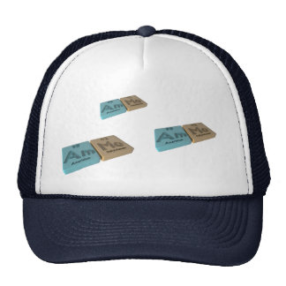 Ammo as Am Anericium and Mo Molybdenum Trucker Hats