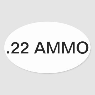 Ammo Can Sticker Labels
