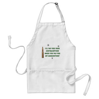 Ammo/Contraception Adult Apron