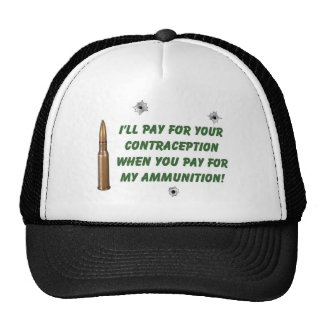 Ammo/Contraception Trucker Hat