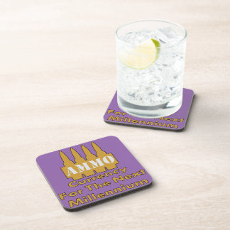 Ammo Currency For The Next Millennium Beverage Coaster