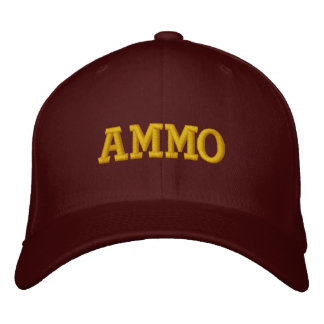 AMMO EMBROIDERED BASEBALL HAT