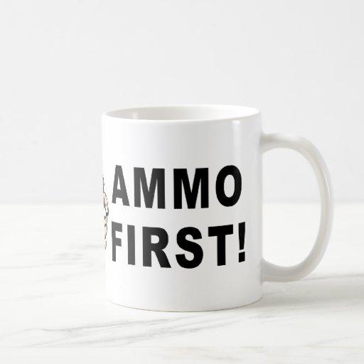 Ammo First Classic White Coffee Mug