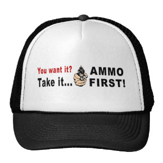 Ammo First Mesh Hat