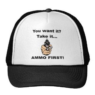 Ammo First Trucker Hat