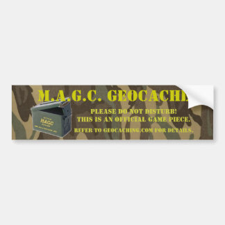 AmmoCan MAGC Cache Sticker Car Bumper Sticker