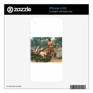 Ammon the Missionary iPhone 4S Decals