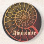 Ammonite ドリンクコースター