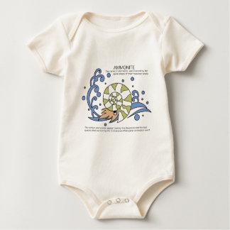 AMMONITE BABY BODYSUIT