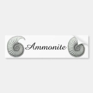 Ammonite Bumper Sticker
