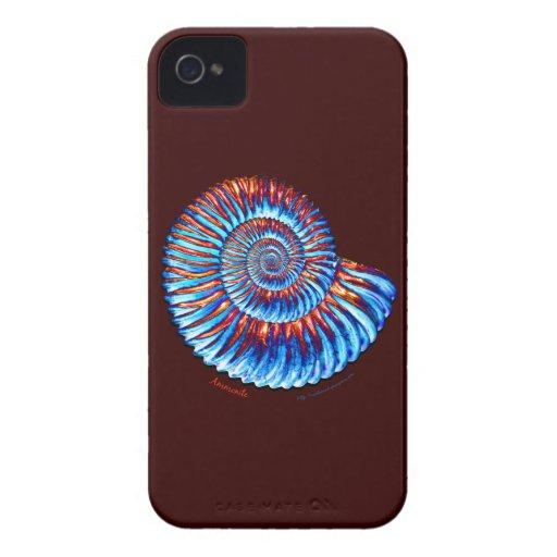Ammonite fossil Case-Mate iPhone 4 cases