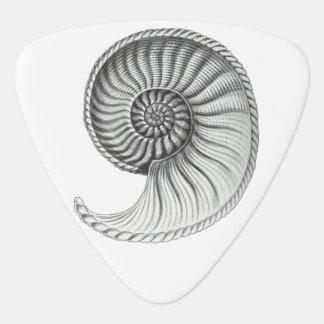 Ammonite Guitar Pick