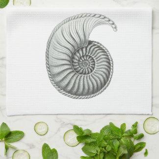 Ammonite Hand Towels