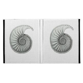 Ammonite iPad Folio Cover