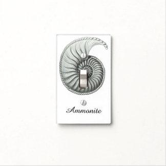 Ammonite Light Switch Cover