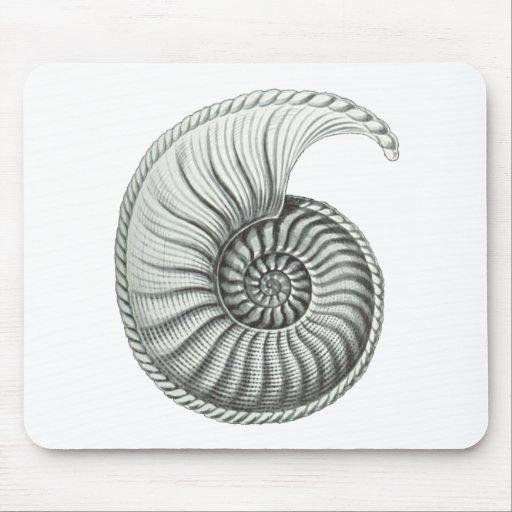 Ammonite Mouse Pad