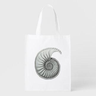 Ammonite Reusable Grocery Bag