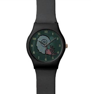ammonite wristwatches