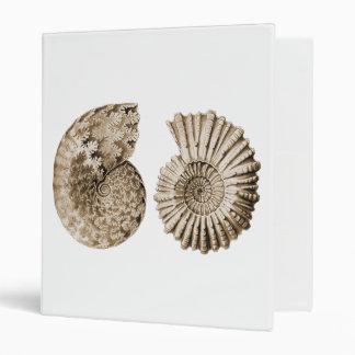 Ammonites 3 Ring Binder