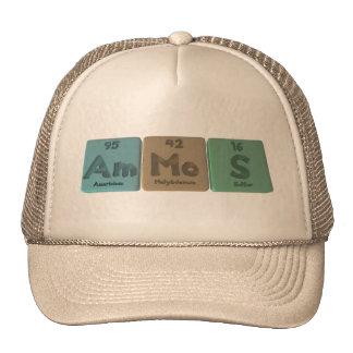 Ammos-Am-Mo-S-Americium-Molybdenum-Sulfur Hat