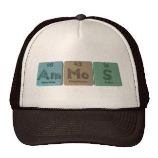 Ammos-Am-Mo-S-Americium-Molybdenum-Sulfur Hats