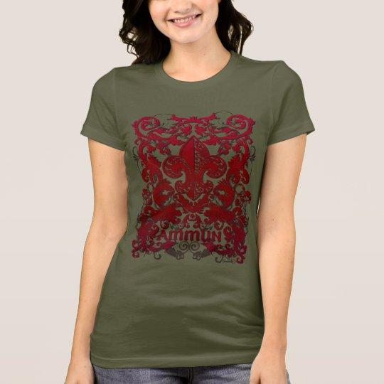 Ammun Floral Fleur #12 T-Shirt