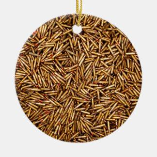 Ammunition Ceramic Ornament