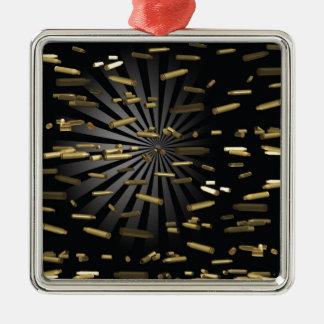 ammunition metal ornament