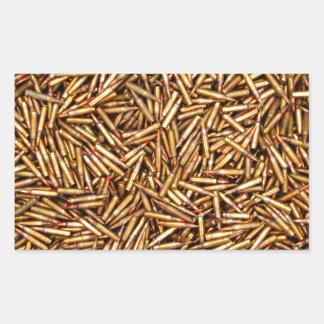 Ammunition Rectangular Sticker