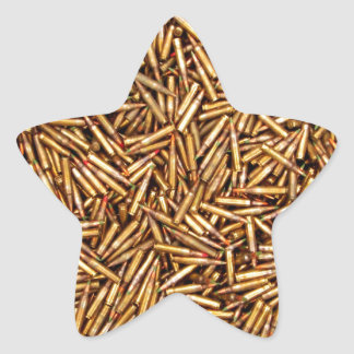 Ammunition Star Sticker