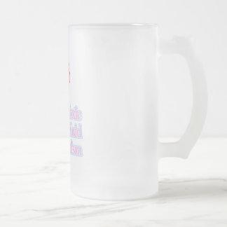Amniotic Fluid Embolism 16 Oz Frosted Glass Beer Mug