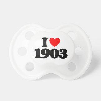 AMO 1903 CHUPETES DE BEBÉ
