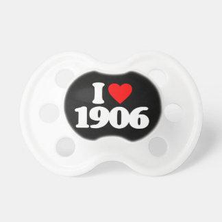 AMO 1906 CHUPETES DE BEBÉ