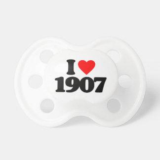 AMO 1907 CHUPETES DE BEBÉ