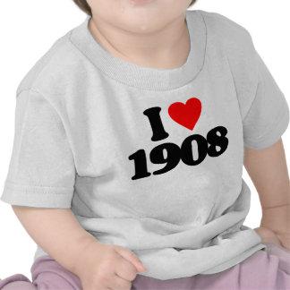 AMO 1908 CAMISETAS