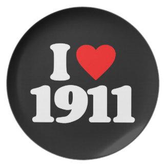 AMO 1911 PLATO DE COMIDA