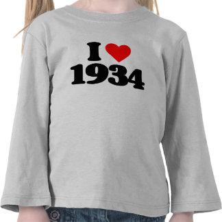 AMO 1934 CAMISETA