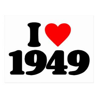 AMO 1949 TARJETAS POSTALES