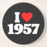 AMO 1957 POSAVASOS PERSONALIZADOS