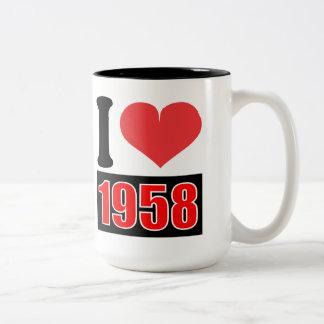 Amo 1958 - las tazas