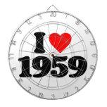 AMO 1959 TABLA DARDOS