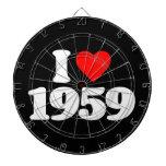 AMO 1959 TABLERO DARDOS