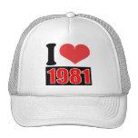 Amo 1981    - gorra